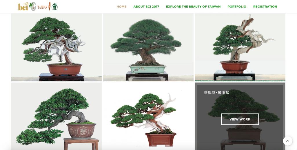 2017亞太國際盆栽大會 2017 BONSAI - 寇德網頁設計